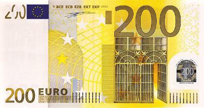 bankovka 200 Euro